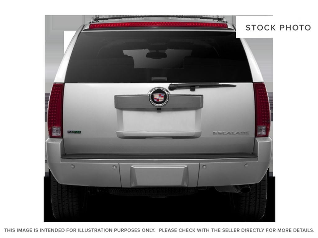 Black[Black Ice Metallic] 2011 Cadillac Escalade Rear of Vehicle Photo in Fort Macleod AB
