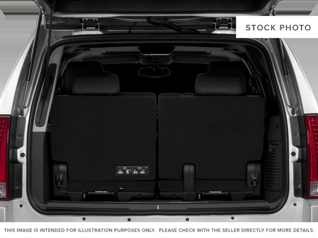 Black[Black Ice Metallic] 2011 Cadillac Escalade Trunk / Cargo Area Photo in Fort Macleod AB
