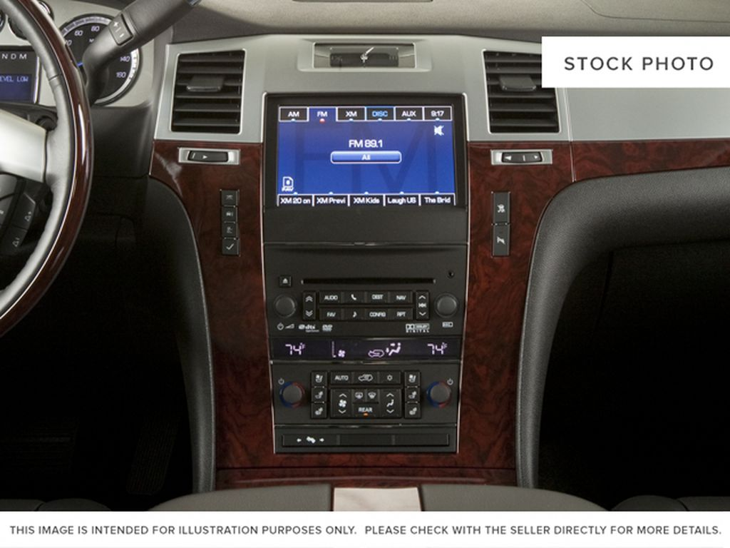 Black[Black Ice Metallic] 2011 Cadillac Escalade Center Console Photo in Fort Macleod AB
