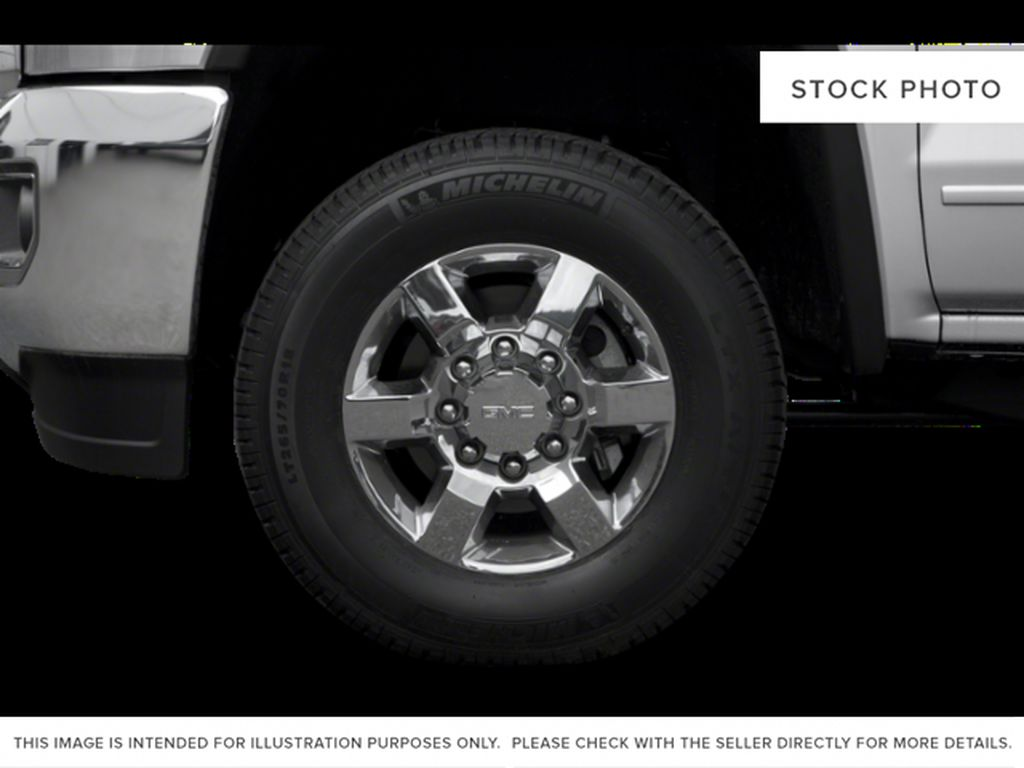 Black[Onyx Black] 2018 GMC Sierra 3500HD Left Front Rim and Tire Photo in Fort Macleod AB
