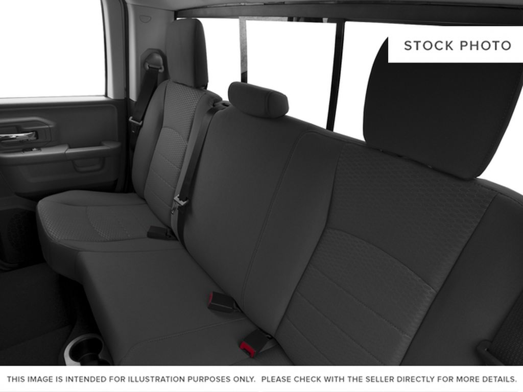 Silver[Bright Silver Metallic] 2016 Ram 1500 Left Side Rear Seat  Photo in Fort Macleod AB