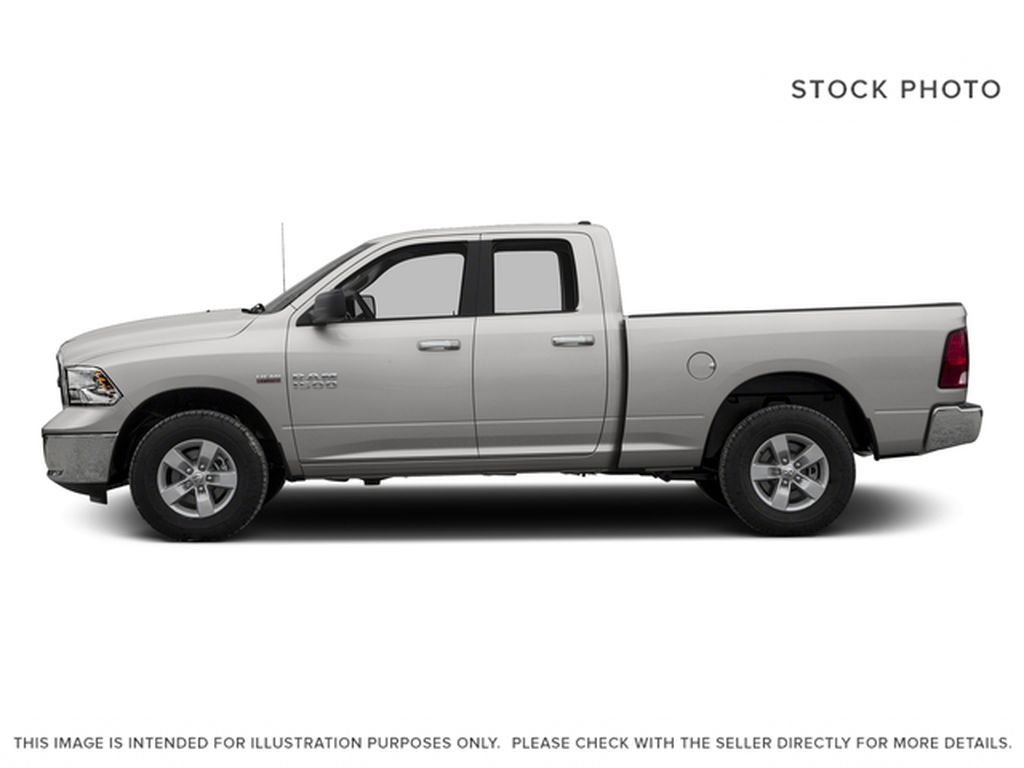 Silver[Bright Silver Metallic] 2016 Ram 1500 Left Side Photo in Fort Macleod AB
