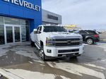 White[Iridescent Pearl Tricoat] 2019 Chevrolet Silverado 3500HD Left Front Corner Photo in Fort Macleod AB