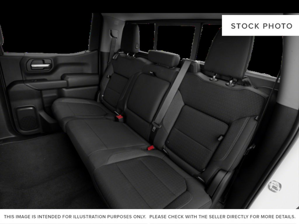 Black[Black] 2019 Chevrolet Silverado 1500 Left Side Rear Seat  Photo in Fort Macleod AB