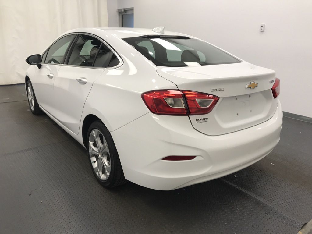 White 2018 Chevrolet Cruze Left Front Head Light / Bumper and Grill in Lethbridge AB