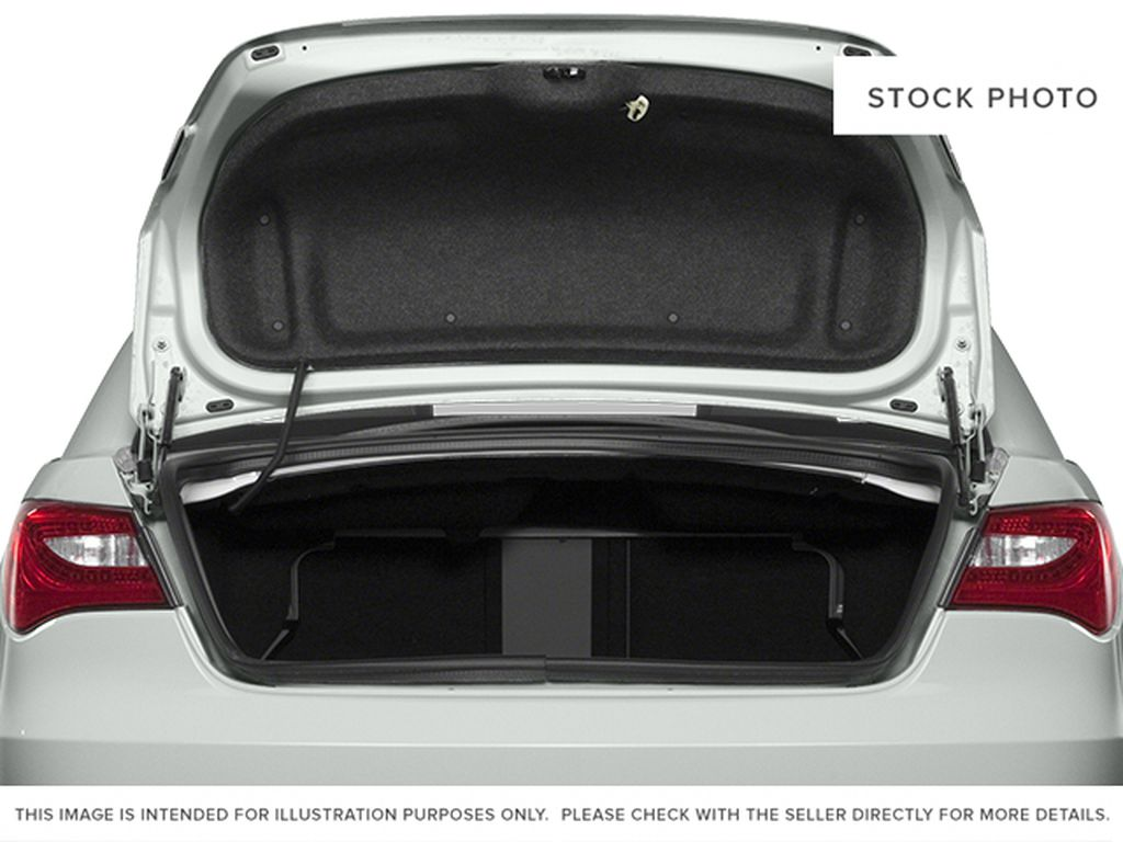 Silver[Billet Metallic Clearcoat] 2014 Chrysler 200 Trunk / Cargo Area Photo in Dartmouth NS