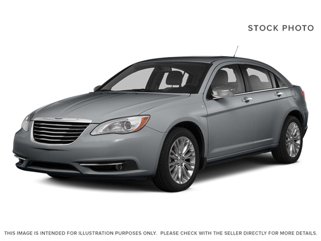 Silver[Billet Metallic Clearcoat] 2014 Chrysler 200