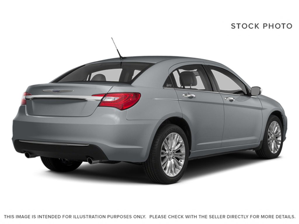 Silver[Billet Metallic Clearcoat] 2014 Chrysler 200 Right Rear Corner Photo in Dartmouth NS