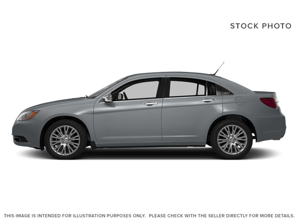 Silver[Billet Metallic Clearcoat] 2014 Chrysler 200 Left Side Photo in Dartmouth NS