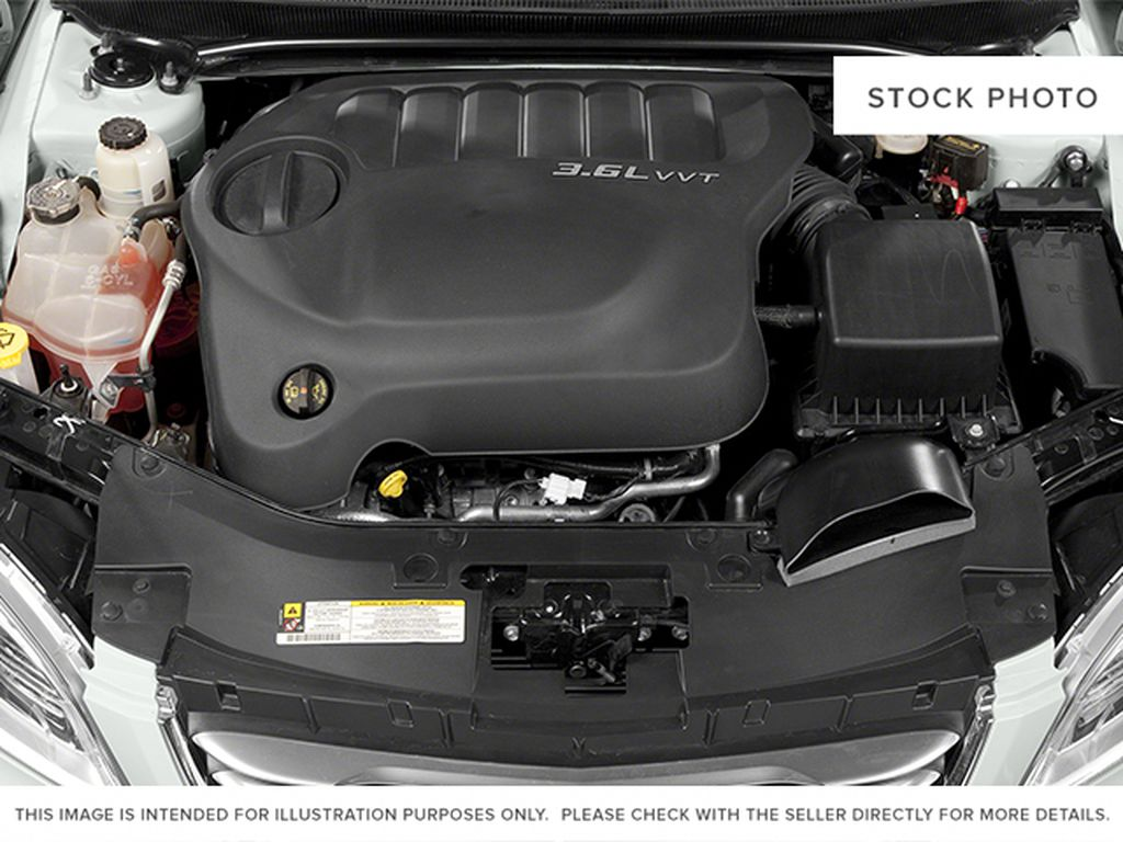 Silver[Billet Metallic Clearcoat] 2014 Chrysler 200 Engine Compartment Photo in Dartmouth NS