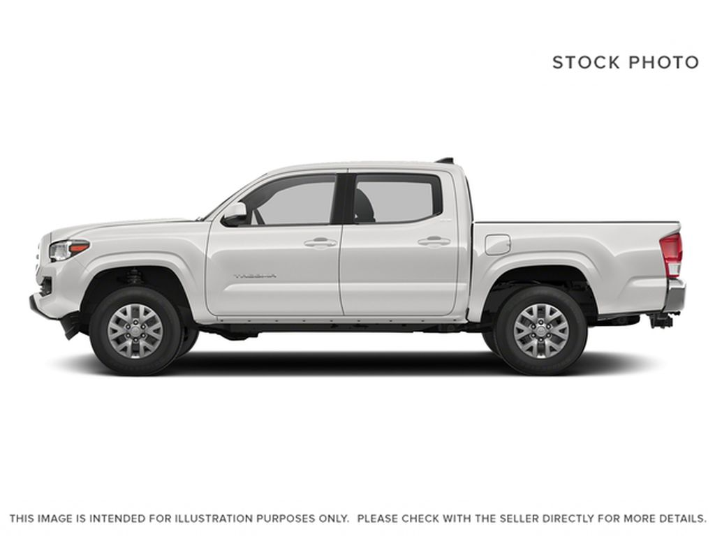 White[Alpine White] 2018 Toyota Tacoma Left Side Photo in Dartmouth NS