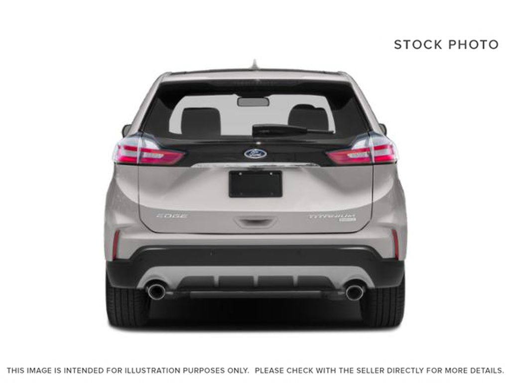 White[Oxford White] 2020 Ford Edge Rear of Vehicle Photo in Dartmouth NS