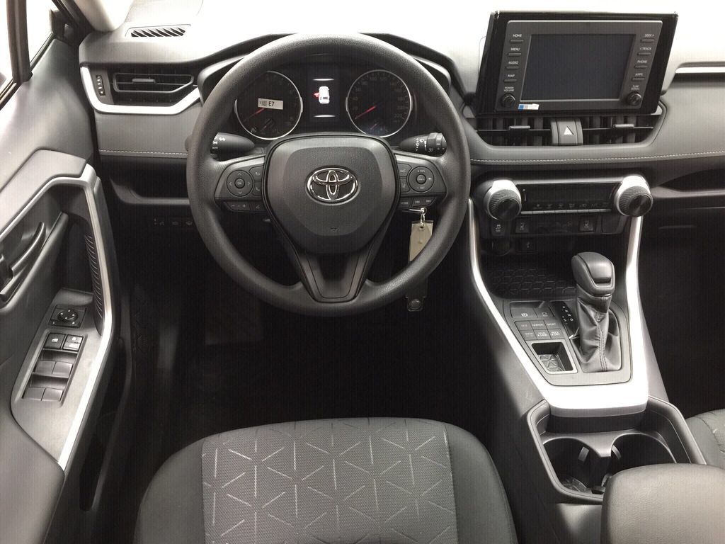 Gray[Magnetic Grey Metallic] 2021 Toyota RAV4 LE AWD Left Front Seat Photo in Sherwood Park AB