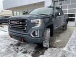 Gray[Satin Steel Metallic] 2021 GMC Sierra 1500 AT4 Left Front Head Light / Bumper and Grill in Calgary AB