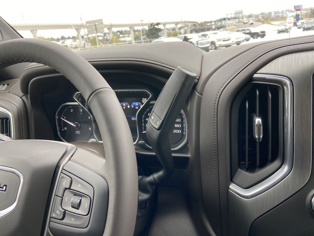 White[White Frost Tricoat] 2020 GMC Sierra 3500HD Denali Center Console Photo in Calgary AB