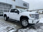 White[White Frost Tricoat] 2020 GMC Sierra 3500HD Denali Primary Listing Photo in Calgary AB