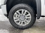 White[White Frost Tricoat] 2020 GMC Sierra 3500HD Denali Left Front Rim and Tire Photo in Calgary AB