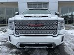 White[White Frost Tricoat] 2020 GMC Sierra 3500HD Denali Front Vehicle Photo in Calgary AB