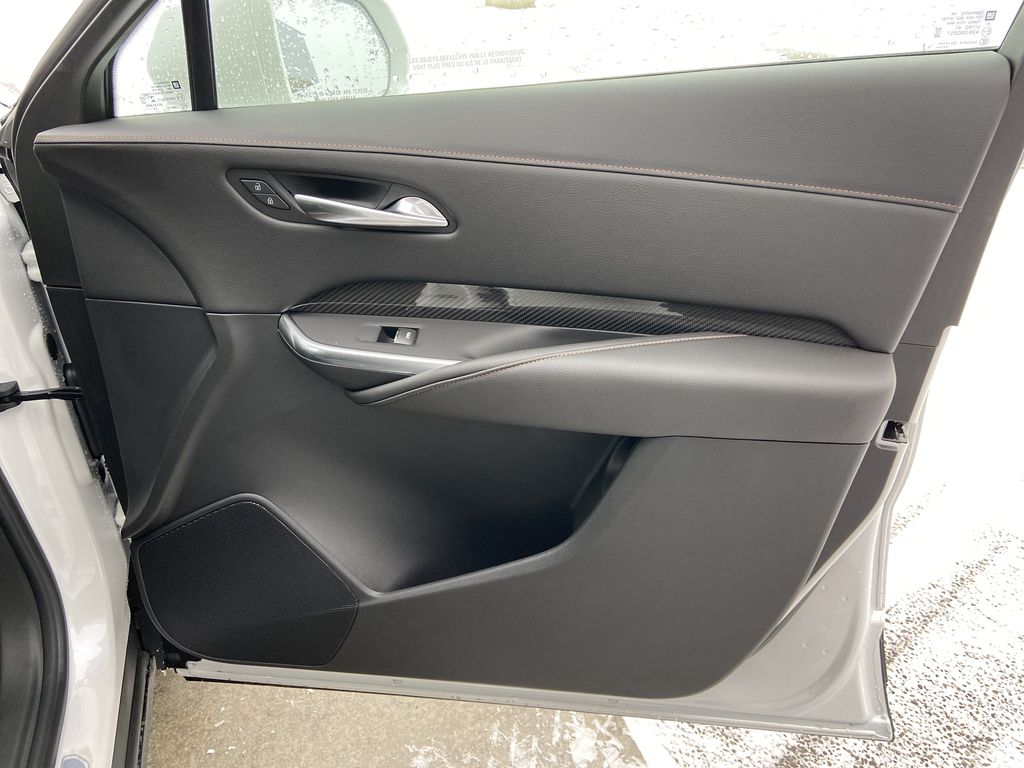 White[Crystal White Tricoat] 2021 Cadillac XT4 Sport Right Front Interior Door Panel Photo in Calgary AB