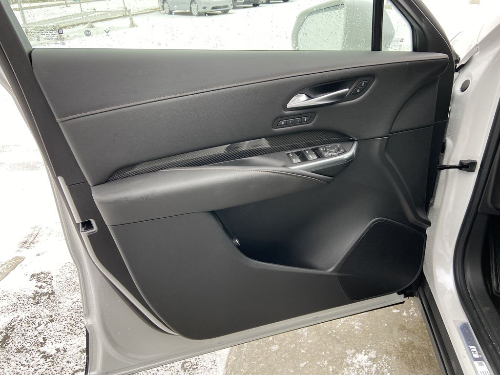 White[Crystal White Tricoat] 2021 Cadillac XT4 Sport Left Front Interior Door Panel Photo in Calgary AB