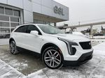 White[Crystal White Tricoat] 2021 Cadillac XT4 Sport Primary Listing Photo in Calgary AB
