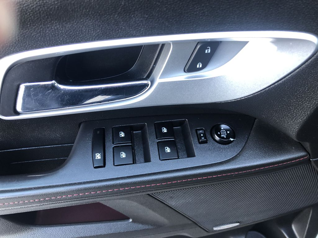 Gold[Champagne Silver Metallic] 2013 Chevrolet Equinox  Driver's Side Door Controls Photo in Canmore AB