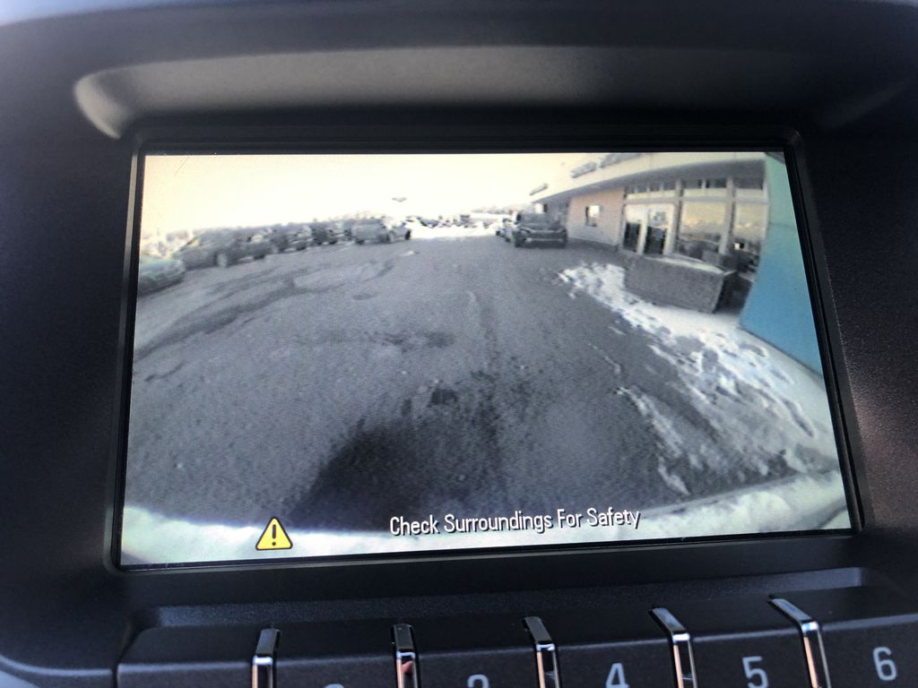 Gold[Champagne Silver Metallic] 2013 Chevrolet Equinox Backup Camera Closeup Photo in Canmore AB