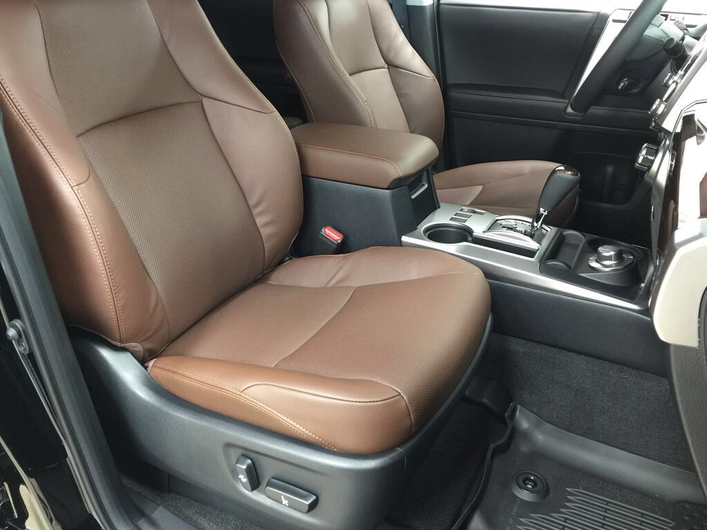 Black[Midnight Black Metallic] 2021 Toyota 4Runner Limited Right Side Front Seat  Photo in Sherwood Park AB