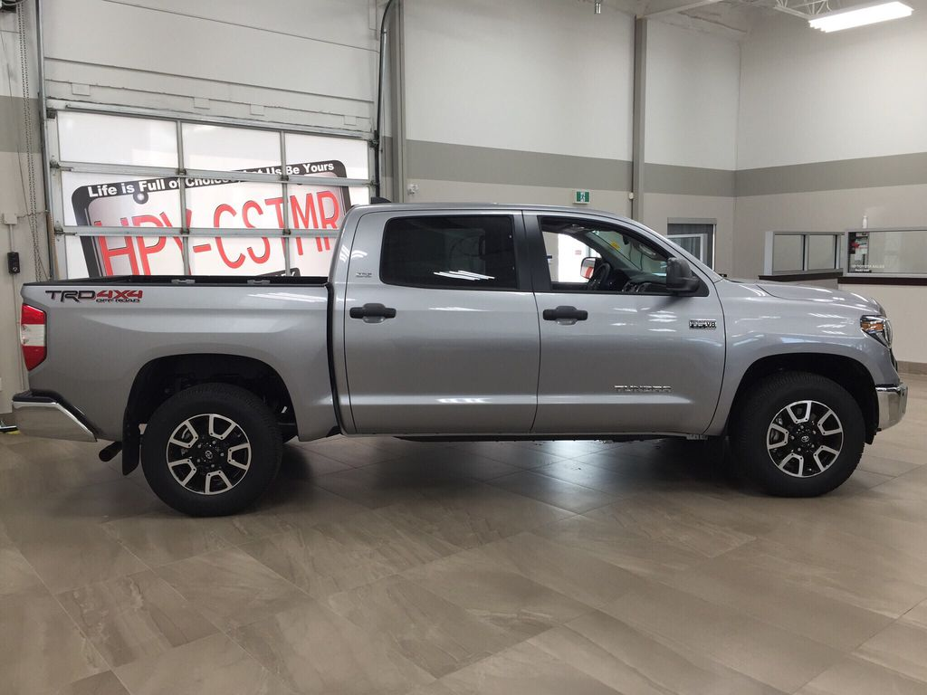 Silver[Silver Sky Metallic] 2021 Toyota Tundra TRD Off-Road Right Side Photo in Sherwood Park AB