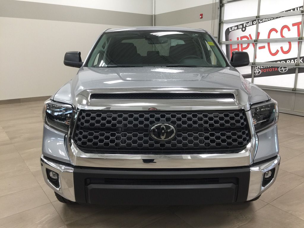 Silver[Silver Sky Metallic] 2021 Toyota Tundra TRD Off-Road Front Vehicle Photo in Sherwood Park AB