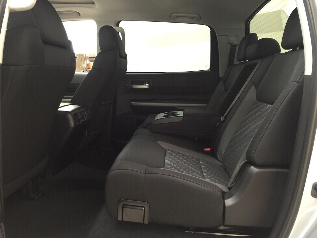 Silver[Silver Sky Metallic] 2021 Toyota Tundra TRD Off-Road Rear Seat Photo in Sherwood Park AB