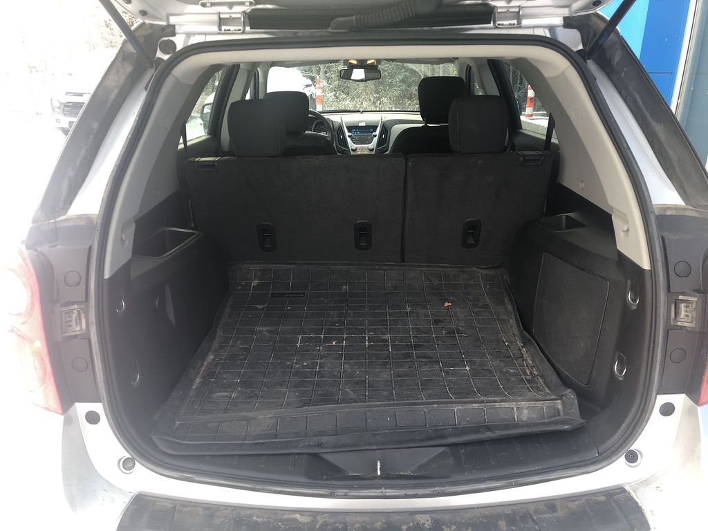Silver[Silver Ice Metallic] 2012 Chevrolet Equinox LS Trunk / Cargo Area Photo in Canmore AB