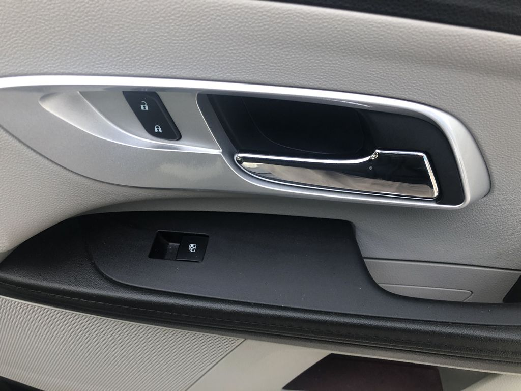 Silver[Silver Ice Metallic] 2012 Chevrolet Equinox LS Passenger Front Door Controls Photo in Canmore AB