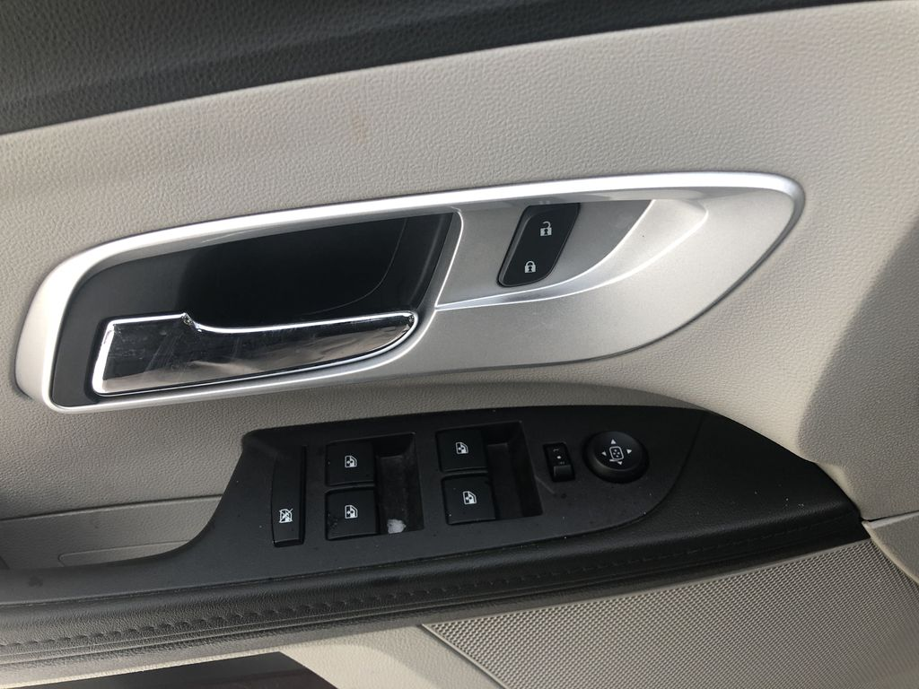 Silver[Silver Ice Metallic] 2012 Chevrolet Equinox LS  Driver's Side Door Controls Photo in Canmore AB