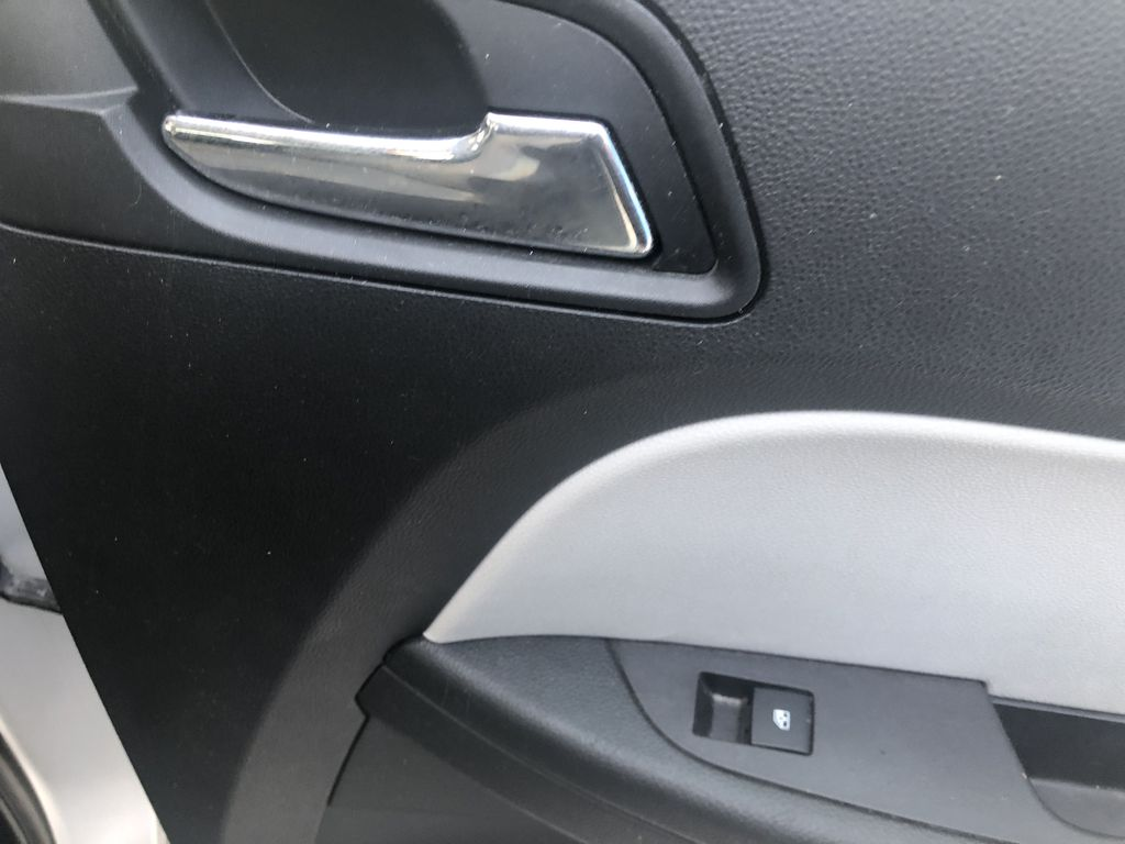 Silver[Silver Ice Metallic] 2012 Chevrolet Equinox LS Passenger Rear Door Controls Photo in Canmore AB