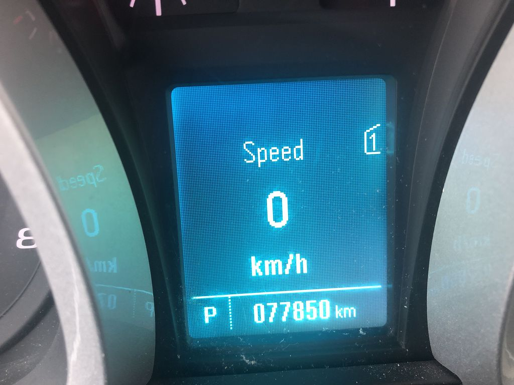 Silver[Silver Ice Metallic] 2012 Chevrolet Equinox LS Odometer Photo in Canmore AB