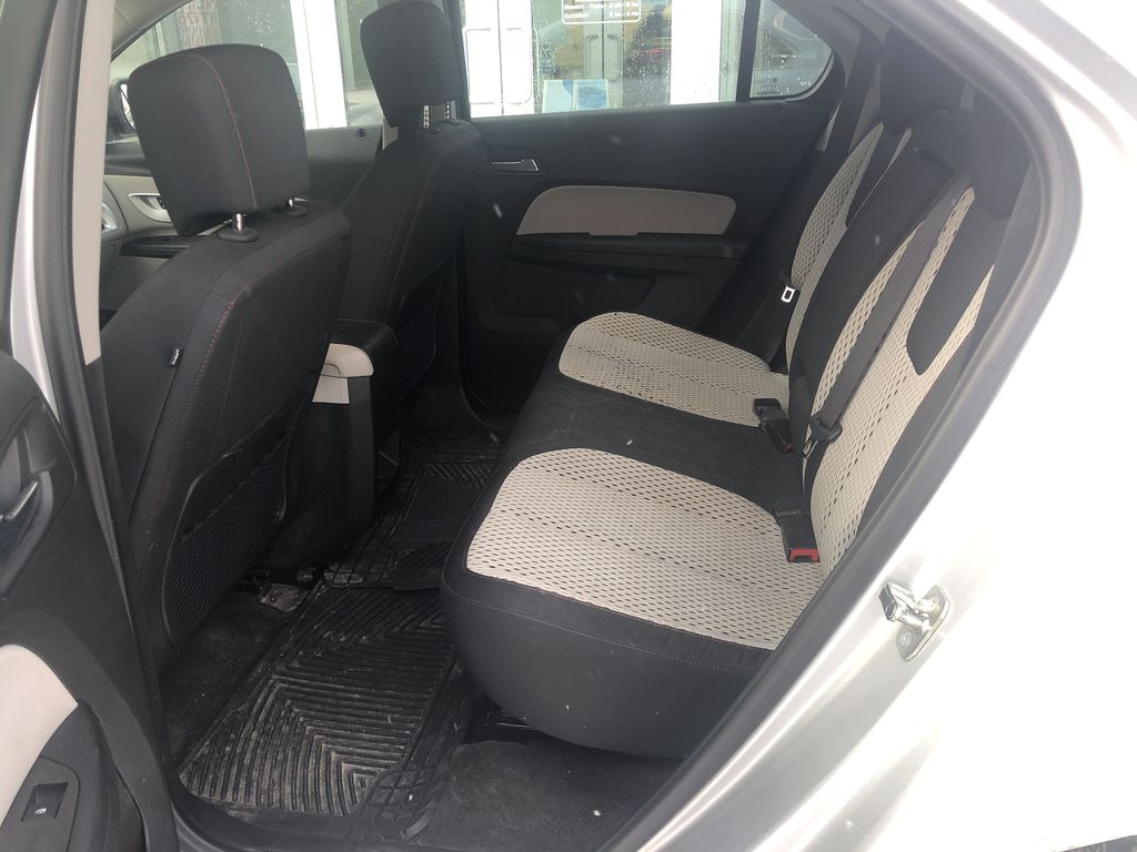 Silver[Silver Ice Metallic] 2012 Chevrolet Equinox LS Left Side Rear Seat  Photo in Canmore AB