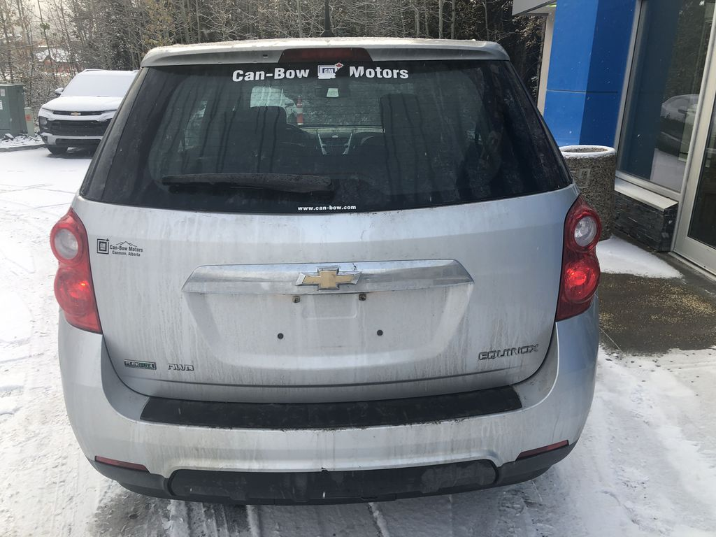 Silver[Silver Ice Metallic] 2012 Chevrolet Equinox LS Rear of Vehicle Photo in Canmore AB