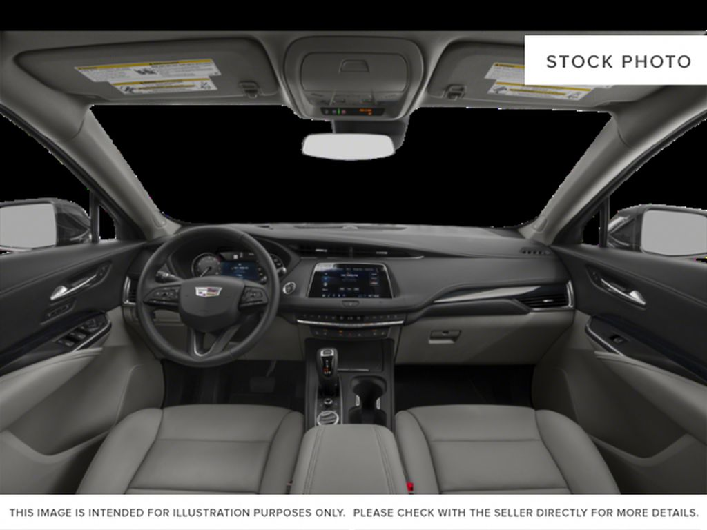 White[Crystal White Tricoat] 2021 Cadillac XT4 Central Dash Options Photo in Edmonton AB