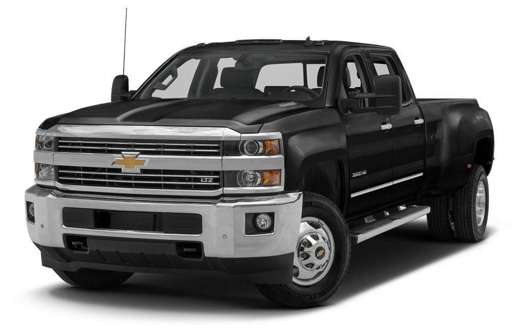 Black 2015 Chevrolet Silverado 3500HD