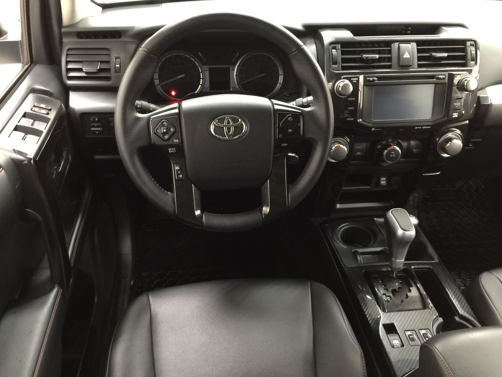 White[Summit White] 2019 Toyota 4Runner TRD OFF-ROAD 4X4 LOW KMS Left Front Seat Photo in Sherwood Park AB