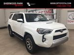 White[Summit White] 2019 Toyota 4Runner TRD OFF-ROAD 4X4 LOW KMS Primary Listing Photo in Sherwood Park AB