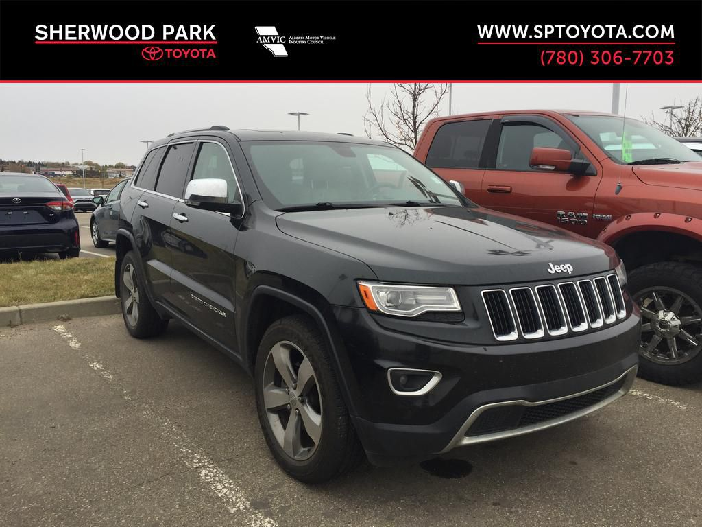 Green[Black Forest Green Pearlcoat] 2014 Jeep Grand Cherokee LIMITED / Panoramic Roof / 3.6L