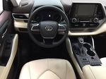 White[Blizzard Pearl] 2020 Toyota Highlander XLE Left Front Seat Photo in Sherwood Park AB