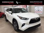 White[Blizzard Pearl] 2020 Toyota Highlander XLE Primary Listing Photo in Sherwood Park AB