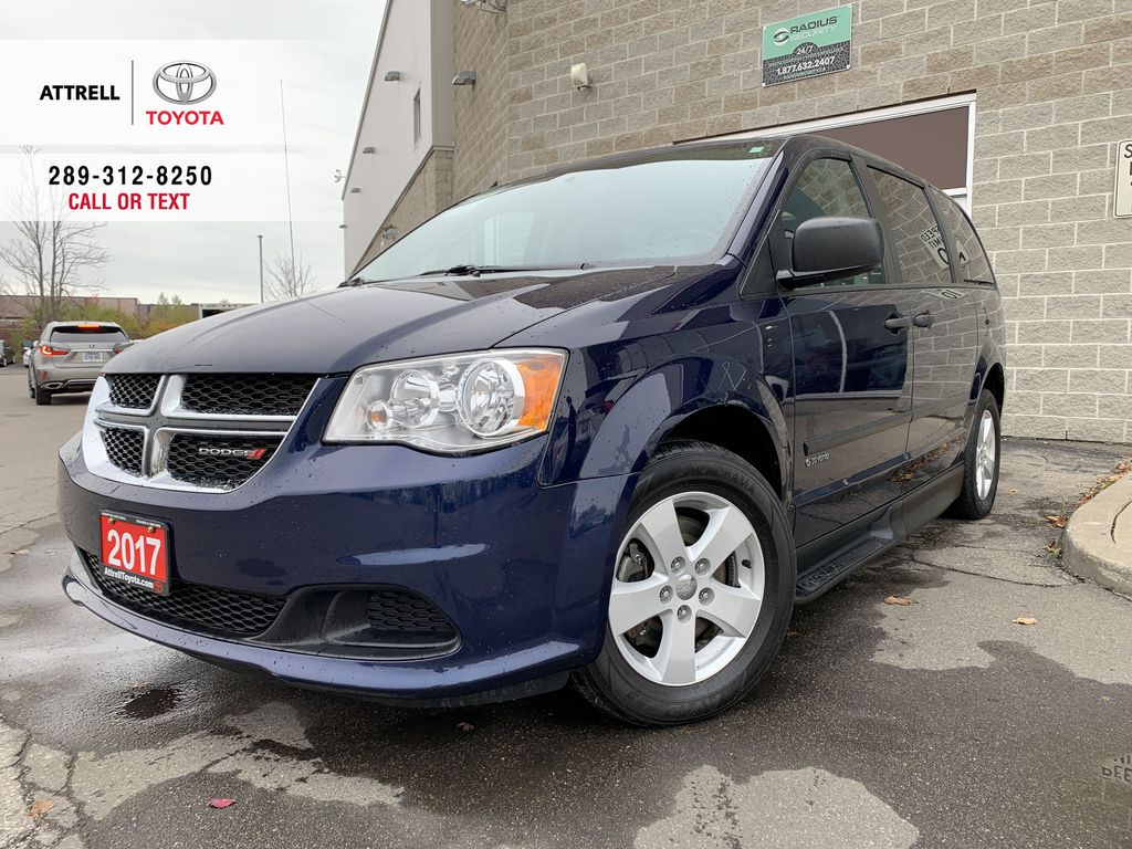 Blue[Jazz Blue Pearl] 2017 Dodge Grand Caravan