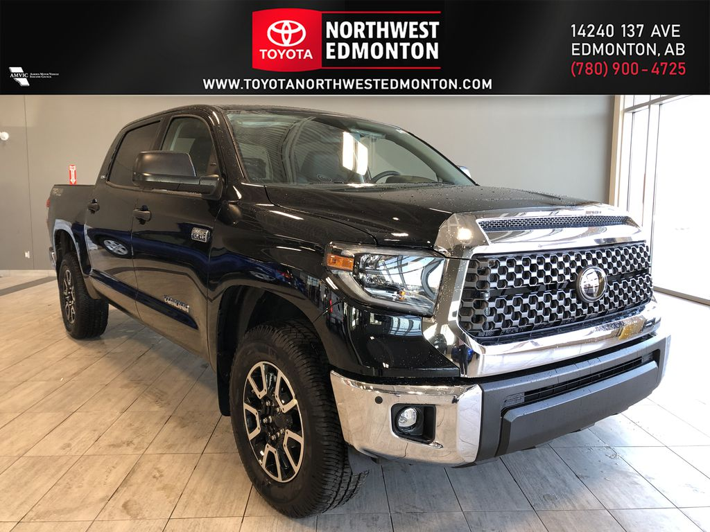 Midnight Black Metallic 2021 Toyota Tundra 4WD Crewmax TRD Off Road