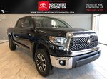 Midnight Black Metallic 2021 Toyota Tundra 4WD Crewmax TRD Off Road Primary Listing Photo in Edmonton AB