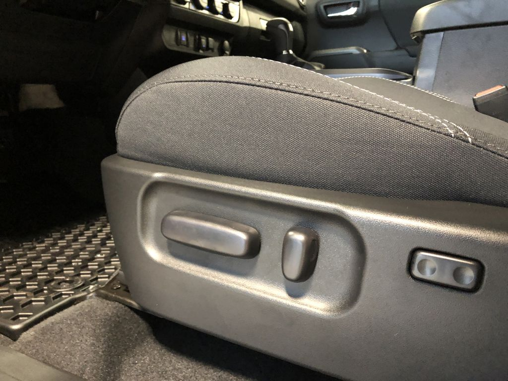 Cement Grey Metallic 2020 Toyota Tacoma 4x4 Double Cab TRD Off Road (Short Box) Right Side Front Seat  Photo in Edmonton AB