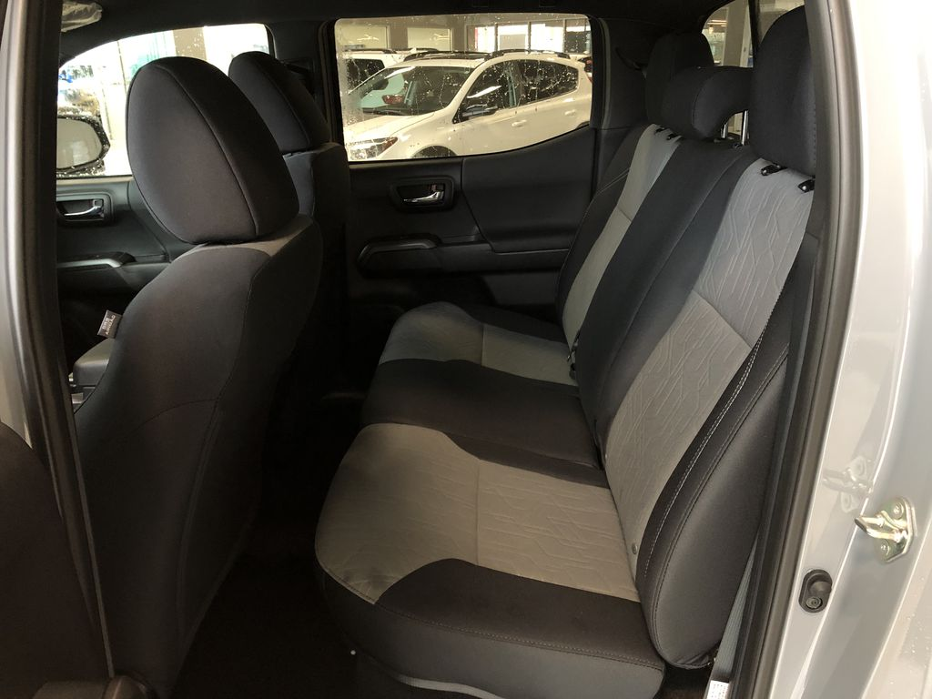 Cement Grey Metallic 2020 Toyota Tacoma 4x4 Double Cab TRD Off Road (Short Box) Central Dash Options Photo in Edmonton AB